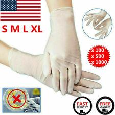1005001000 Pcs Vinyl Gloves Clear Non Latex Examination Glove Size S M L Xl
