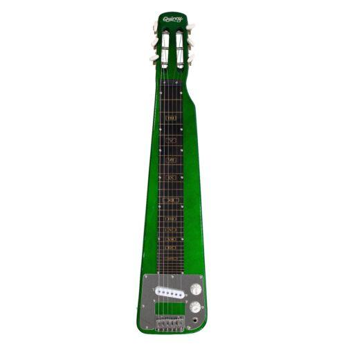 Electric Lap Slide Steel Guitar Bags Legs Metallic Green Quincy Nashville boxset