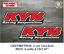 Sticker-Vinilo-Decal-Vinyl-Aufkleber-Adesivi-Autocollant-KYB-Racing-Suspensions miniatura 5