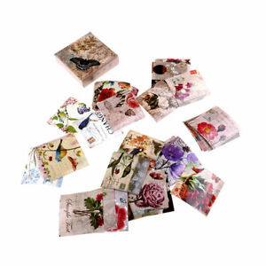 40pcs-butterfly-flower-paper-sticker-diy-diary-decor-for-album-scrapbooking-US