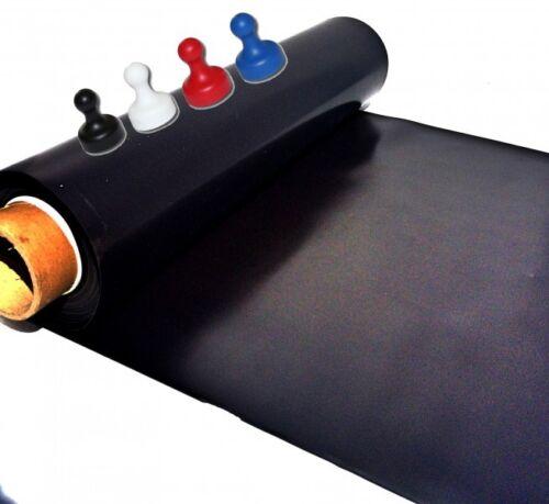 Haftgrund fü Eisenfolie Ferrofolie 200mm x 500mm x 0,6mm nicht selbstklebend