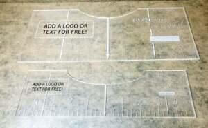 Easy Ez Shirt Tshirt Alignment Placement Design Ruler Tool Adult Youth Bundle Ebay