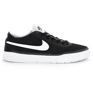 new concept 5d12c de497 Image is loading Nike-BRUIN-SB-HYPERFEEL-Black-White-White-Skate-