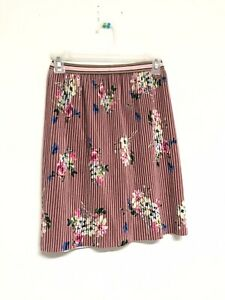 NWT-New-Zara-Girls-Multi-Velvet-Pleated-Flowers-Printed-Skirt-SZ-8-128cm-N43