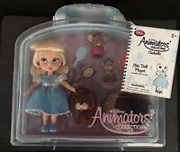 Disney Animators' Collection Mini Doll Play Set Cinderella