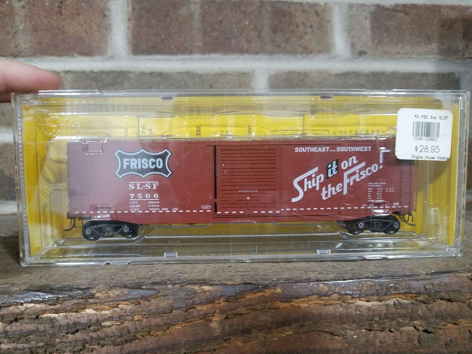 HO Scale Kadee 6002 SLSF Frisco Ship It On 50' scatola auto  7566 modellolo Train  2