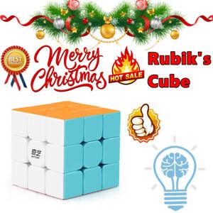 3X3-Magic-Cube-Smooth-Fast-Speed-Rubix-Rubiks-Puzzle-Kids-Creative-Gifts-XMAS-Qj