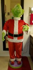 Gemmy Life Size 5' Tall Working Animated Singing Dancing Grinch W/Power Cord
