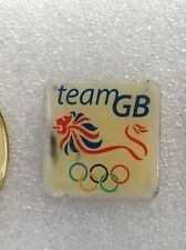 OLYMPICS TEAM GB 2012 OFFICIAL SPONSORS PIN BADGE IN VERY GOOD CONDITION