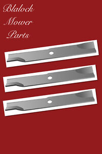 """11450, Lot of 3, Exmark 103-6382, High Lift Blade for 52"""" cut, Length 18"""""""