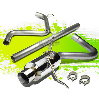 "4/"" MUFFLER TIP CATBACK RACING EXHAUST SYSTEM FOR 01-06 CHRYSLER PT CRUISER 2.4L"