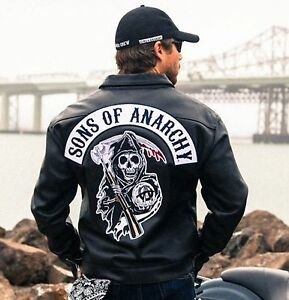 SOA-Sons-of-Anarchy-Collared-Leather-Jacket-BNWT