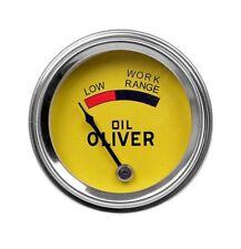 Oil Pressure Gauge Fits Oliver 66 660 77 88 Super 55 Super 66 Super 77 Super 88
