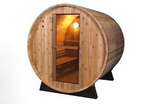Image Is Loading KikBuild Barrel Sauna Outdoor Garden Wooden Fonteyn 6ft