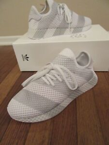 Details about ADIDAS DEERUPT CONSORTIUM Size 10.5 White Grey AC7755 Brand  New In Box NIB DS