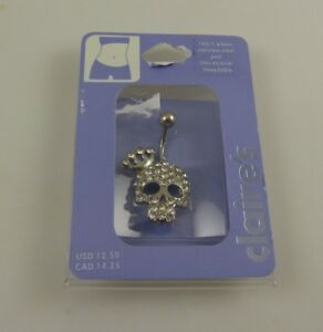 bling-crystal-princess-skull-tiara-belly-button-ring-piercing-body-jewelry-nav