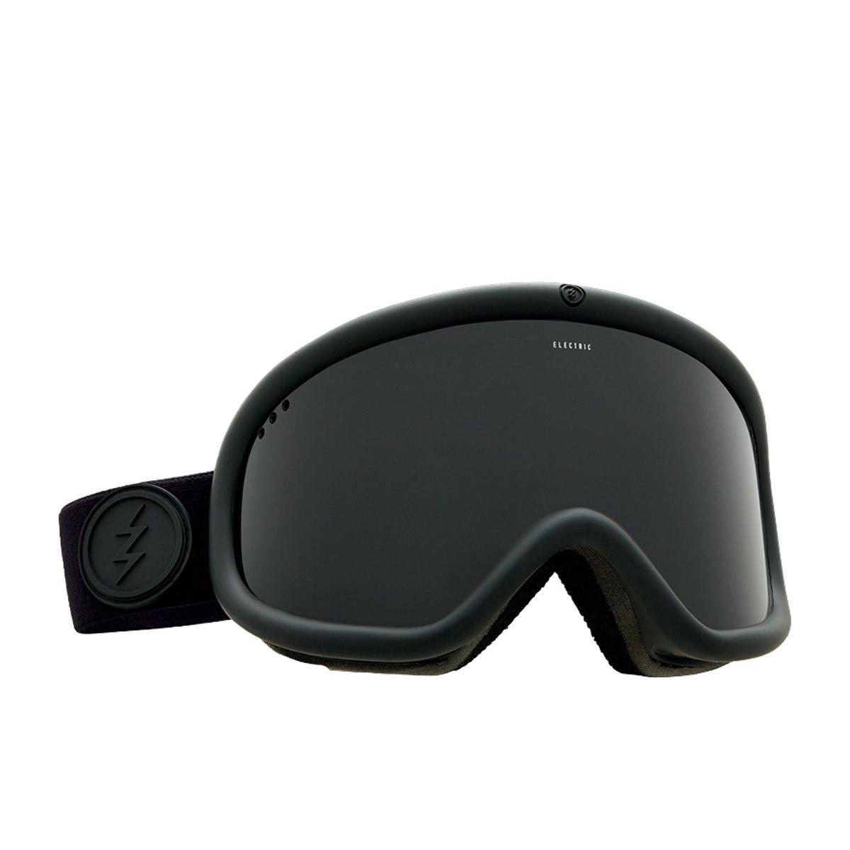 Elektrisch Visuell Ladegerät Mattschwarz Snowboard Brille (Tiefschwarz)