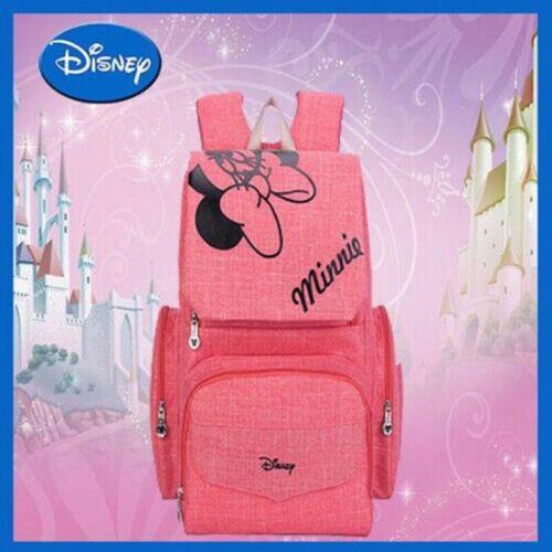 DISNEY Mickey Minnie Baby Maternal Stroller Multi-Function Big Storage Nappy Bag