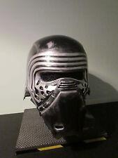 Star Wars Kylo Ren Deluxe 2 Piece Custom Weathered Helmet Cosplay.