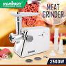 New Electric Meat Grinder Electric Commercial Mincer Sausage Filler Kebbe Maker