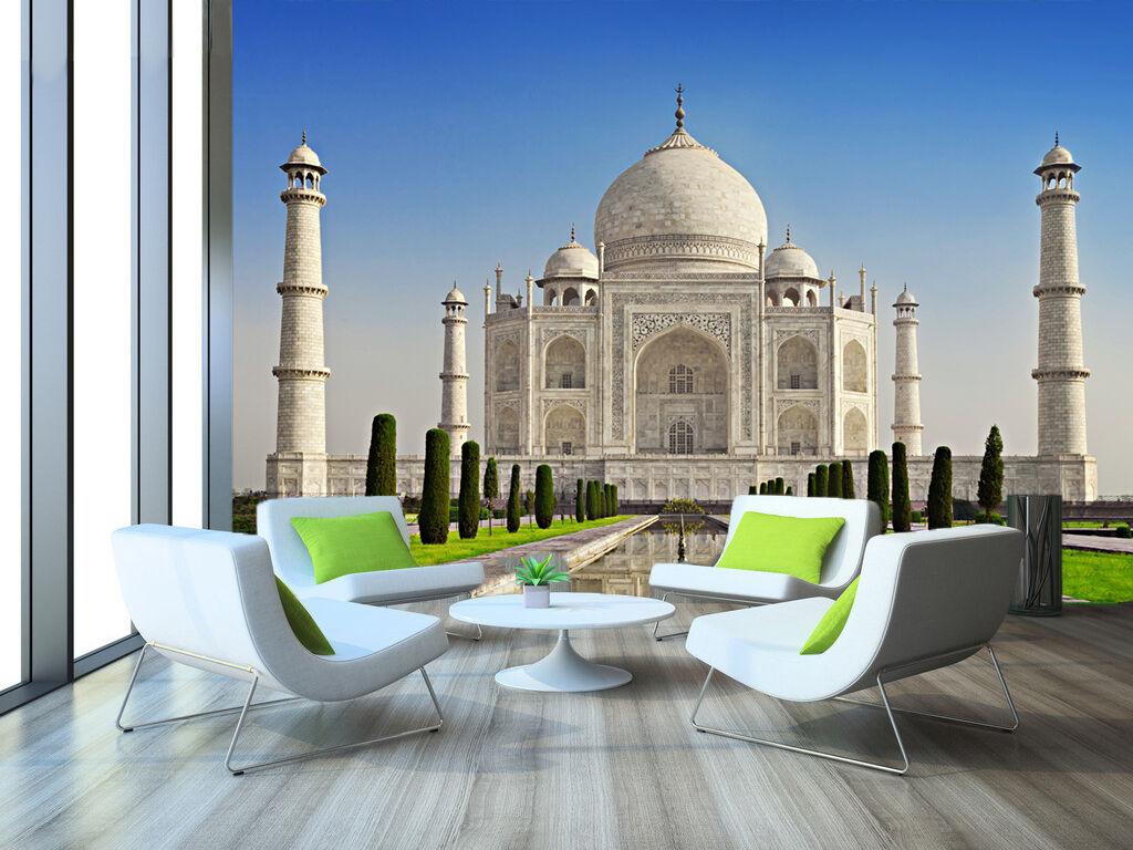 3D Casa Bianca 7 Parete Murale Foto Carta da parati immagine sfondo muro stampa