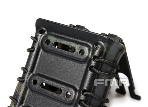 FMA Airsoft Scorpion Rifle Mag Single Pouch Carrier 7.62 for Molle//Belt System