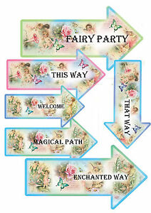 12-Fairy-Party-Arrows-Decorations-Fairy-Party-Enchanted-Magic-Birthday