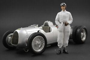 Tazio Nuvolari Figure Pour 1:18 Cmc Auto Union Typ D Rar !