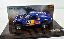 VW Tuareg 2004 Paris-Dakar Kleinschmidt-Pons 1:43 von MINICHAMPS die-cast
