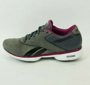 Grey Suede Leather Smoothfit Trainers
