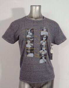 66789da00dd126 Billabong Andy Warhol women s boy-tee t-shirt charcoal S NWT ...