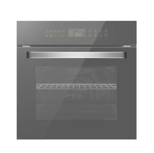 """Empava 24"""" Electric Convection Single Wall Oven 10 Cooking Functions Deluxe 360°"""