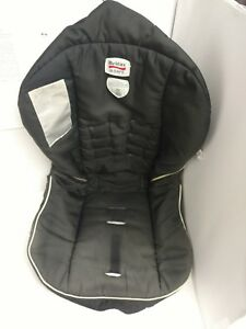 B Britax B Safe Infant Baby Car Seat Black Fabric Pad Cover Cushion Replacement Ebay
