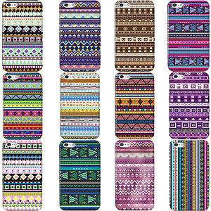 Estilizado-Azteca-TRIBU-Retro-Vintage-Tribal-Funda-para-Varios-Telefono-Movil
