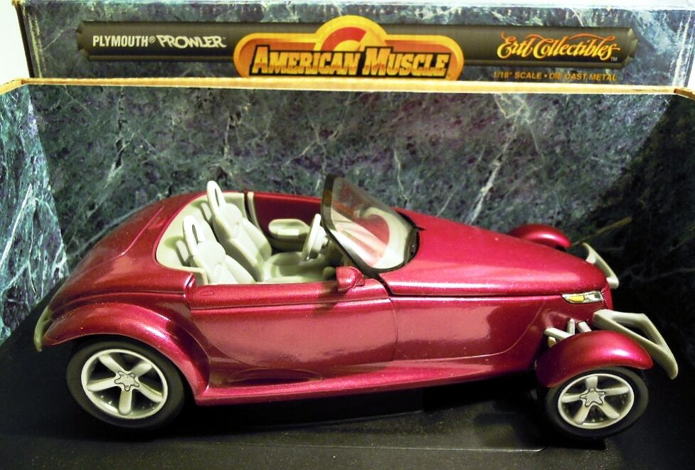 ERTL 7394 American Muscle  Plymouth Prowler, Diecast in 1 18, NEU & OVP