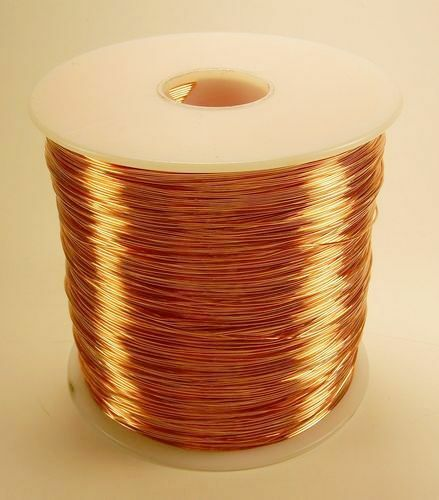 WHOLESALE COPPER SOLID BARE WIRE 12 GA 5 LB. 250 FEET JEWELRY,CRAFT  MADE IN USA