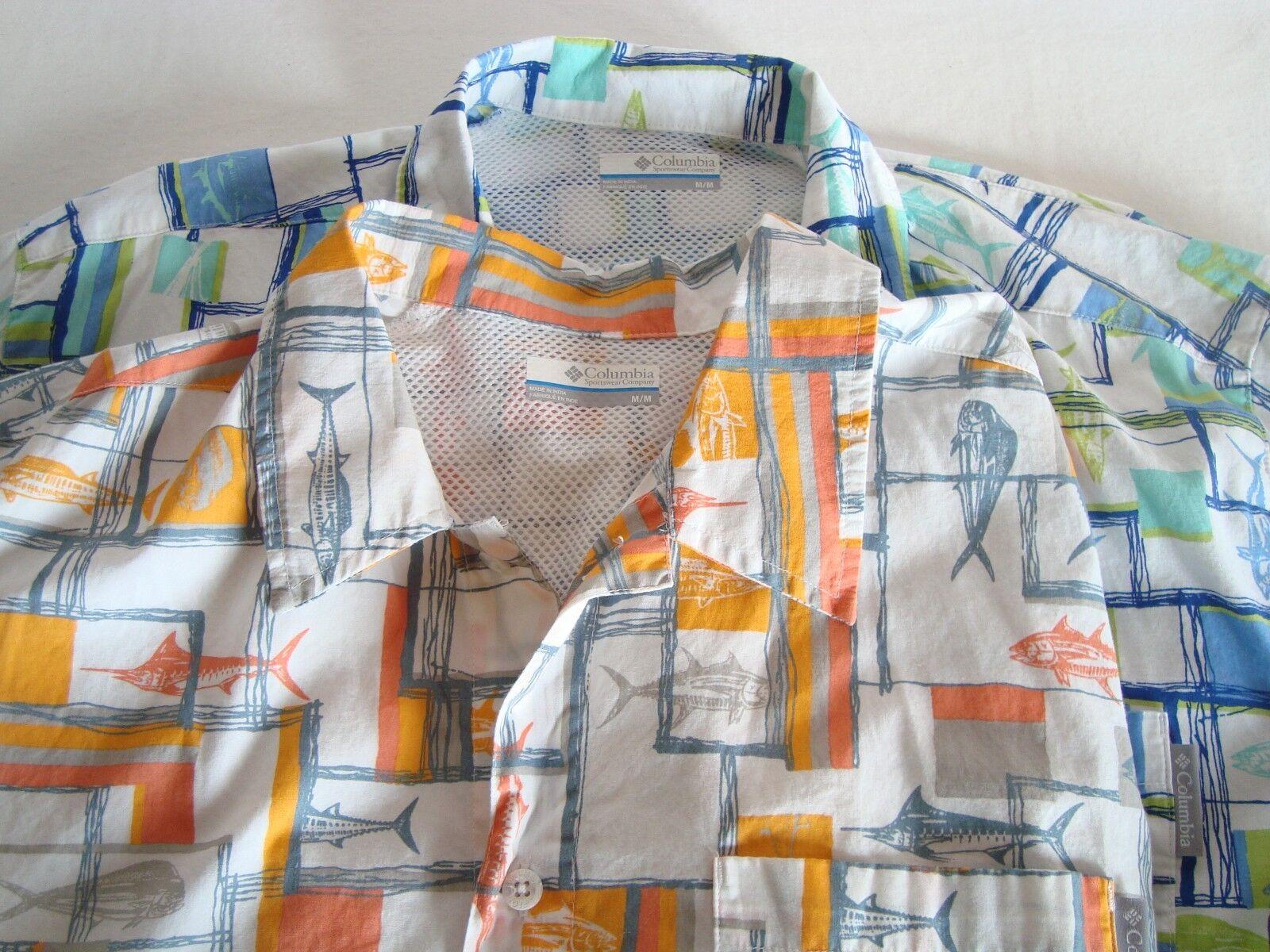 Columbia PFG Shirts Medium Lot of 2