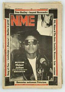 NME 4 April 1981 Michael Jackson Gang of Four Pete Shelley Landscape