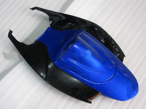New Back tail Black Blue Fairings fit Suzuki 2006 2007 GSXR 600 750 K6 Injection