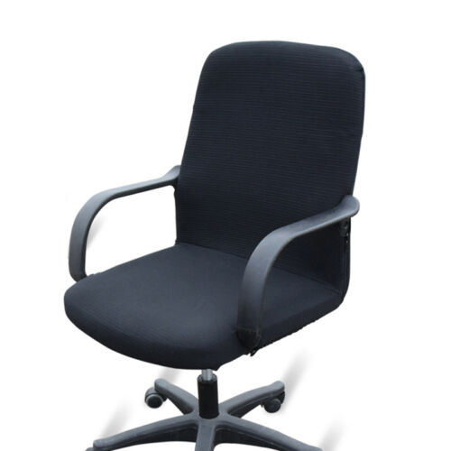 New Chair Cover Office Study Room Seat Armchair Swivel Chair Slipcover Stretchy