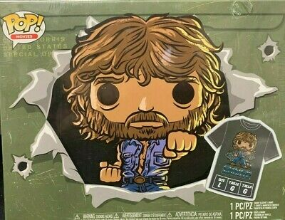 Movies Collectors Box: Chuck Norris POP /& Tee Funko POP - Gray Large