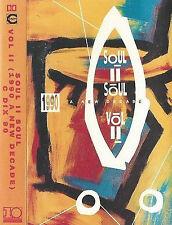 Soul II Soul Vol. II (1990 - A New Decade) CASSETTE ALBUM Downtempo, Jazzdance