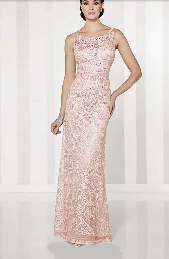 Cameron Blake by Mom Cheri Formal gown Size 4 style-115604 (Retail Value )