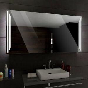 praga badspiegel mit led beleuchtung wandspiegel badezimmerspiegel nach ma ebay. Black Bedroom Furniture Sets. Home Design Ideas