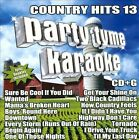 Party Tyme Karaoke: Country Hits, Vol. 13 by Karaoke (CD, 2013, Sybersound Records)