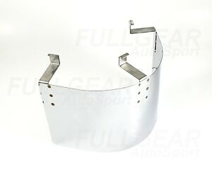 "UNIVERSAL STAINLESS STEEL AIR INTAKE FITLER HEAT SHEILD FOR 3/""-3.5/"" CONE FITLER"