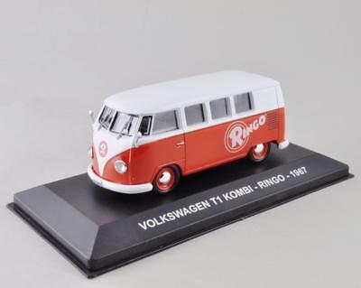 "VOLKSWAGEN T1 KOMBI /""Ringo/"" 1967 Camion Publicitaire 1//43 IXO Boite Vitrine Neuf"