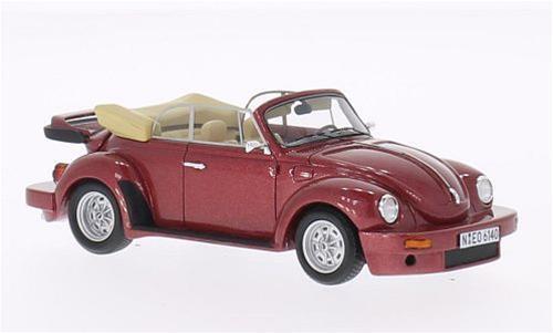 Schult Beetle (Vw) Cabrio 1976 Metallic rosso 1 43 NeoScale NEO46140