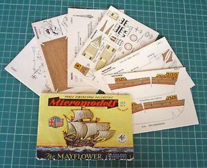 1950s-Vintage-Original-Micromodels-Set-No-1-Mayflower-The-Final-Micromodel-4