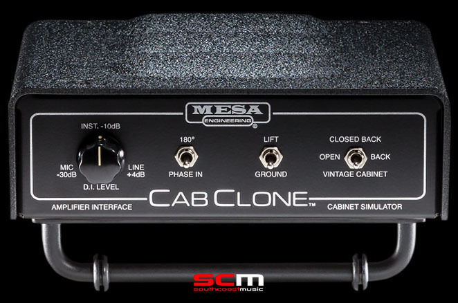 MESA BOOGIE CAB CLONE 8 OHM CABINET SIMULATOR LOAD BOX PEDAL FREIE SHIPPING
